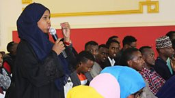 """""""Convince your people"""" an eye opening TV debate show in Somalia"""