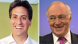 Ed Miliband and Lord Howard to guest present Radio 2's Jeremy Vine show