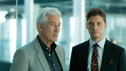 First-look images released of Richard Gere, Helen McCrory and Billy Howle in BBC Two's MotherFatherSon