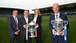 BBC Sport NI signs new three-year live football deal with the Irish FA and NIFL