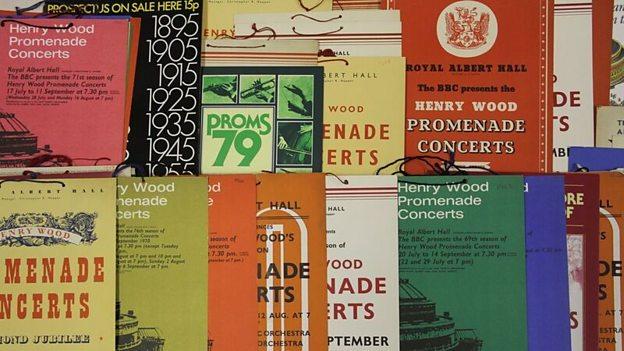 Promenade Concert Pamphlets