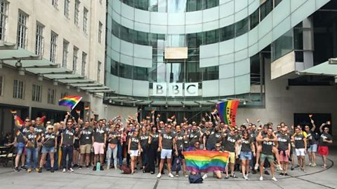 New plans to make the BBC an even more inclusive workplace for LGBT staff