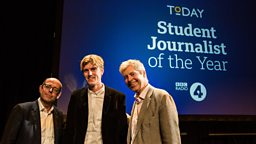 The winners of BBC Radio 4's Today programme first Student Journalism Awards revealed