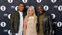Rickie, Melvin and Charlie to join BBC Radio 1 to host late night show