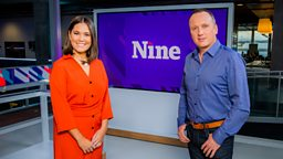First look at The Nine, BBC Scotland's new nightly news programme