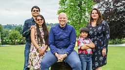 The Roy Choudhury family