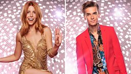 Stacey Dooley and Joe Sugg take One Step Beyond the ballroom as they join Madness at this year's New Year's Eve celebrations on BBC One