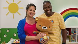 Giovanna Fletcher and Nigel Clarke announced as presenting duo for new CBeebies series The Baby Club