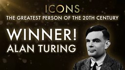 Alan Turing is voted the nation's icon of the 20th century in BBC Two's Icons finale