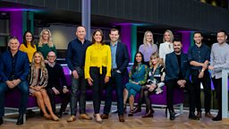 Nine lives: First picture of the team behind BBC Scotland's new flagship news programme The Nine
