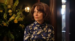 An interview with Helen McCrory (Kathryn)