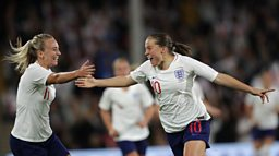 Follow the Lionesses to France on the BBC