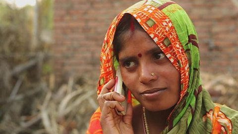 Mobile messages giving new-born babies in India the best start in life
