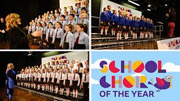 Who will be BBC Northern Ireland School Choir Of The Year junior and senior winners?