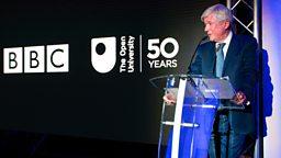Tony Hall's speech to mark the Open University's 50th birthday