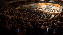 Smartphones Welcome!  BBC Philharmonic transforms concerts with live updates sent to audiences' phones