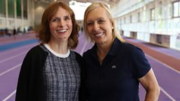 Trans Athletes: A Fair Playing Field? Martina Navratilova in new BBC One documentary
