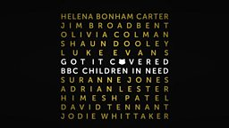 Stellar line-up announced for Children in Need: Got It Covered
