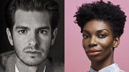 And, The Category is: British Acting Royalty! Andrew Garfield and Michaela Coel are totally gagged to be joining the celebrity guest judge line-up for RuPaul's Drag Race UK