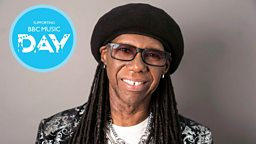 Legendary Nile Rodgers announced as ambassador for BBC Music Day's initiative to reach people living with dementia through music