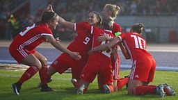 Follow Wales women's football live on the BBC as they aim for the Euros