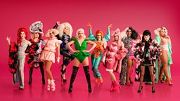 RuPaul and BBC Three ru-veal the first ever line-up for RuPaul's Drag Race UK