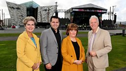 BBC Proms In The Park set to light up Titanic Slipways