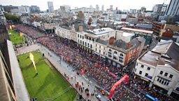 BBC broadcasts the Cardiff Half Marathon across the UK