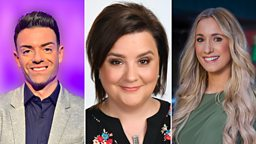 Join Susan Calman, Des Clarke and Amy Irons for Hogmanay 2019