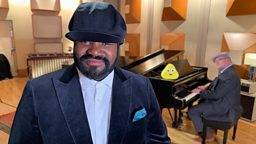 Gregory Porter becomes the first celebrity to sing a CBeebies Bedtime Story