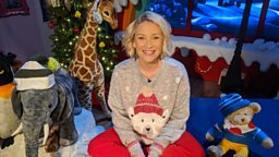 Joanna Page, Vicky McClure, Robbie Williams and Gregory Porter read Christmas CBeebies Bedtime Stories