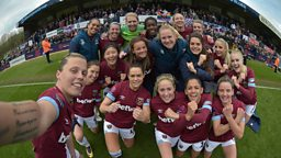 New fixture for BBC Three confirmed with a second series following West Ham United