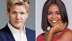 Two brand new entertainment programmes coming to the BBC fronted by Gordon Ramsay and Oti Mabuse