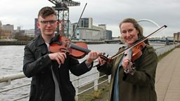 Past and present winners celebrate 20 years of BBC Radio Scotland's Young Traditional Musician Award
