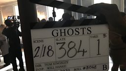 Filming has begun on the second series of BBC comedy Ghosts