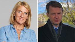 Sarah Brett and Chris Buckler to host BBC Radio Ulster's breakfast news programme