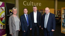 BBC NI and Libraries NI announce new plans for partnership