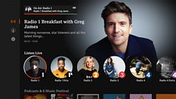 BBC Sounds launches app for connected TVs