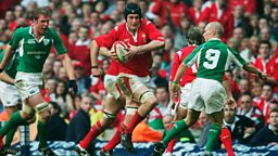 Sports fans can re-live some of Wales' glory moments  on BBC One Wales and BBC iPlayer