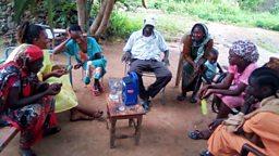 Radio drama to encourage non-violent conflict resolution in South Sudan