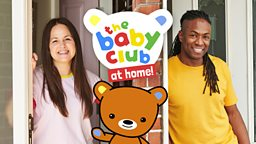 Giovanna Fletcher and Nigel Clarke to host The Baby Club at Home on CBeebies