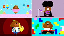 Hey Duggee and The Mixtape Badge featuring Björk, The Cure, Ornette Coleman, Orbital and more…
