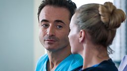 Joe McFadden returns to Holby City as Raf Di Lucca for special episode