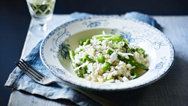 Vegetable garden risotto