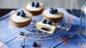 Mini blueberry Bakewell tarts