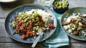 Spicy chilli con carne with guacamole