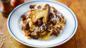 Wild boar ragù with fresh pasta