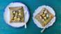 Apple, rocket and feta buckwheat galettes