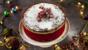 Apricot and brandy Christmas cake