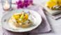 Mozzarella bruschetta with shaved fennel and courgette